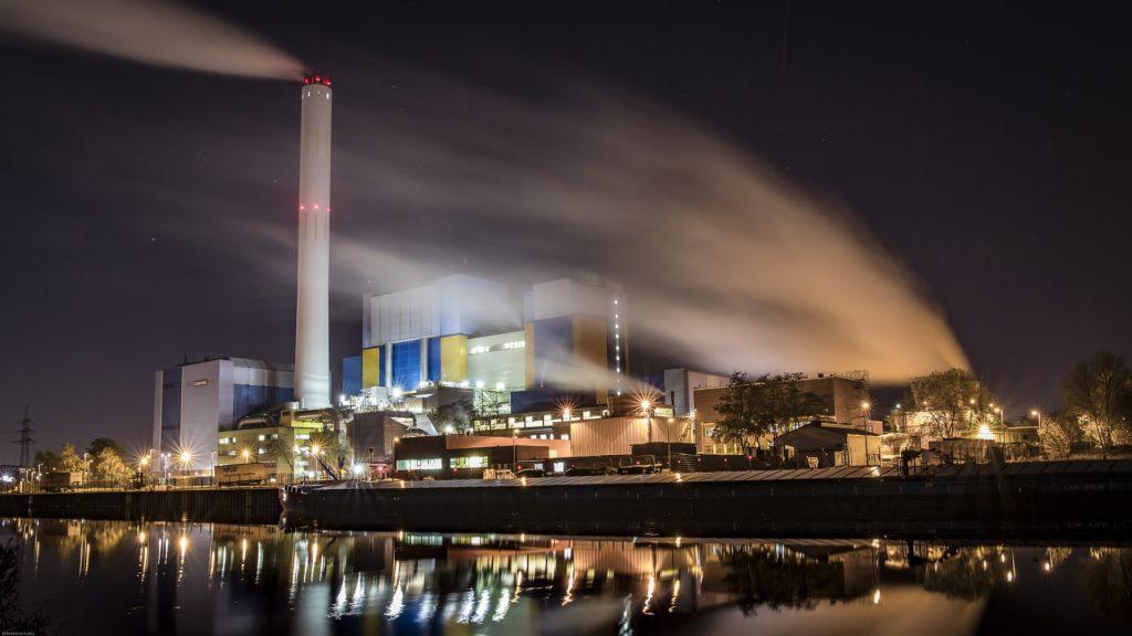 Verbrennungsanlage Kraftwerk